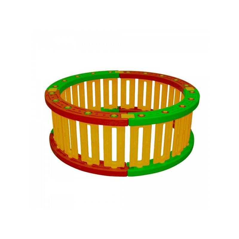 Пластиковый круглый манеж для шаров