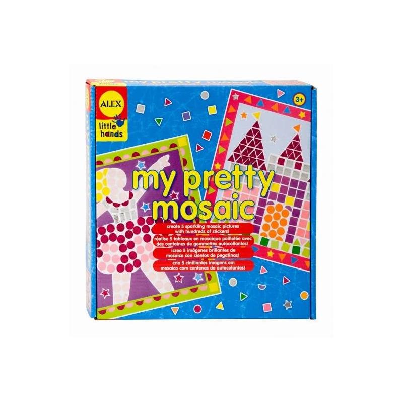 ALEX Мозаика Прелесть набор для детского творчества голографическая мозаика обезьянка с2600 09