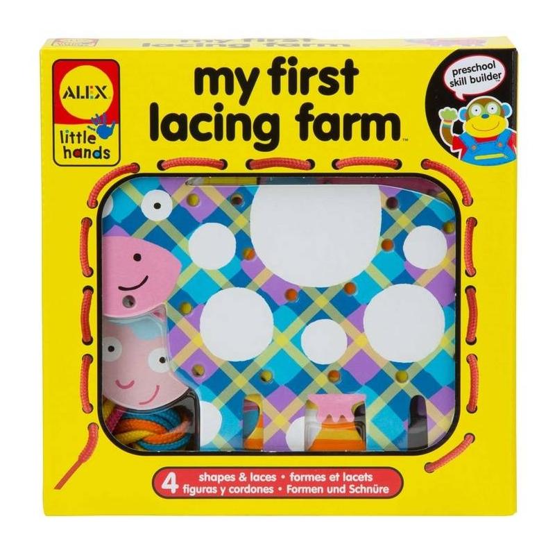 ALEX Игрушка-шнуровка Веселая ферма игрушки для ванны alex ферма