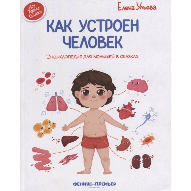 Феникс Энциклопедия для малышей в сказках Как устроен человек