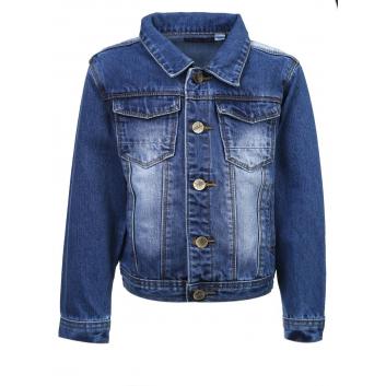 Мальчики, Джинсовая куртка Stilnyashka (синий)107572, фото