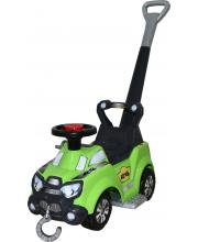 Каталка-автомобиль Sokol с ручкой и подножкой Molto