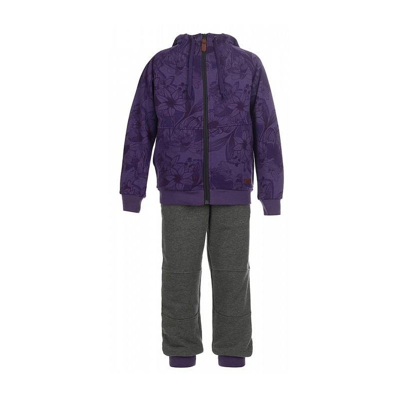 OLDOS Спортивный костюм Сильвия спортивный костюм для девочки oldos сильвия цвет фиолетовый темно серый 5o8su04 размер 158 12 лет