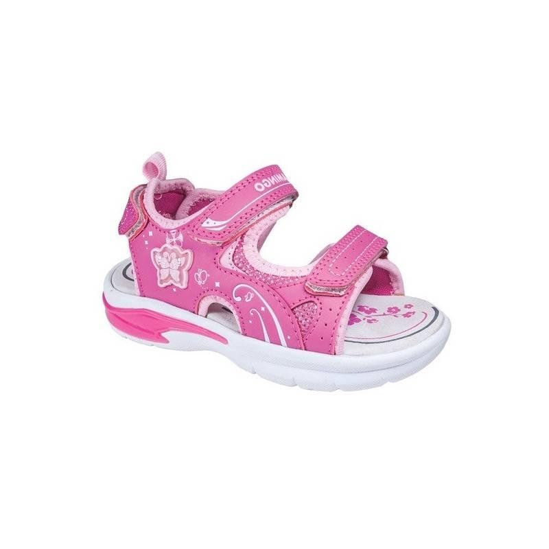 Купить Сандалии, Flamingo, Малиновый, 27, Для девочки, 118392, Весна/Лето, Китай