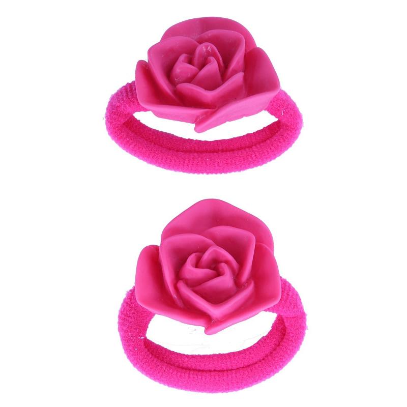 Комплект резинок для волос Роза 2 шт
