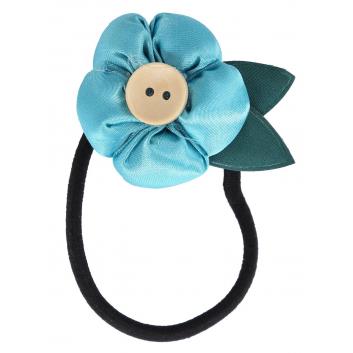 Школа, Резинка для волос Цветочек Mary Poppins (голубой)116945, фото