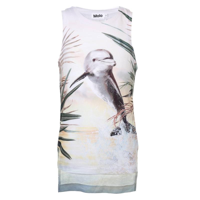 Molo Майка Ro юбка белая с принтом molo ут 00012872