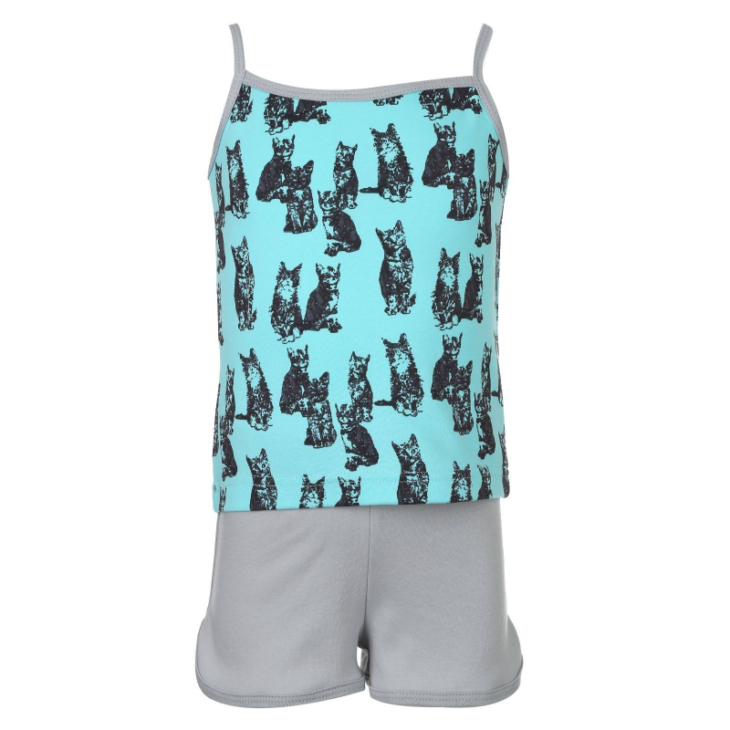 КотМарКот Пижама пижама из майки и шортов из модала и кружева romy
