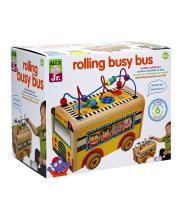 Деревянный центр Веселый автобус