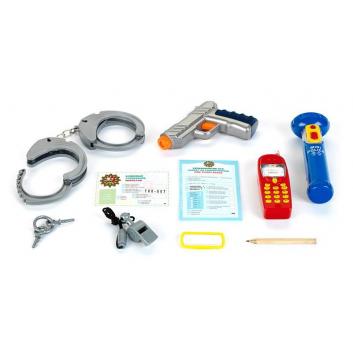 Игровой набор Полицейский с пистолетом