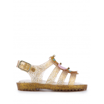 Обувь, Босоножки Worldcolors (золотой)120494, фото