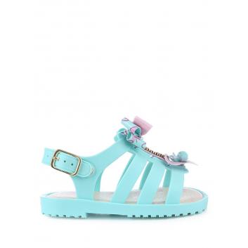 Обувь, Босоножки Worldcolors (бирюзовый)120470, фото