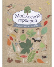 Развивающая книга-альбом Мой лесной гербарий Томас-Белли А.