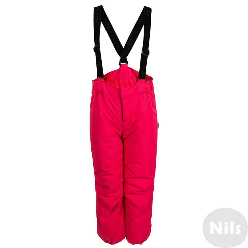 БрюкиУтепленные штаны ярко-розовогоцвета маркиLASSIE by REIMA для девочек.<br>Штаныиз прочного водо- и грязеотталкивающего материала с водонепроницаемой мембраной.Штаныхорошо защищают от ветра и холода, так как изготовлены из ветропроницаемого материала и имеют в составе утеплитель. Застегиваются штаны на молнию и липучку. К штанам прикреплены подтяжки, которые при желании можно отстегнуть. Штаныхорошо сидят на талии благодаря широким резинкам на поясе сзади и по бокам; низ штанов на резинке.<br>Изделие можно стирать в стиральной машине, брюки не теряют своих водоотталкивающих свойств.<br><br>Размер: 8 лет<br>Цвет: Розовый<br>Рост: 128<br>Пол: Для девочки<br>Артикул: 617154<br>Страна производитель: Китай<br>Сезон: Осень/Зима<br>Состав верха: 100% Полиэстер<br>Состав подкладки: 100% Полиэстер<br>Бренд: Финляндия<br>Наполнитель: 100% Полиэстер<br>Покрытие: Полиуретан<br>Температура: от 0° до -20°