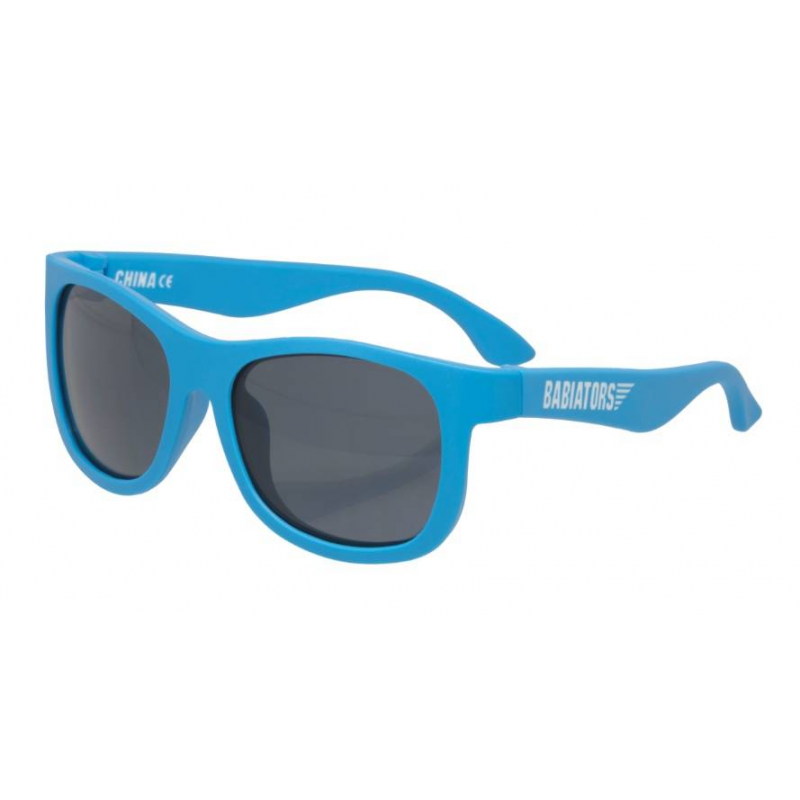 Babiators Солнцезащитные очки Original Navigator Blue Crush солнцезащитные очки original navigator фиолетовое царство purple reign от 3 х до 5 ти лет babiators ут 00014854