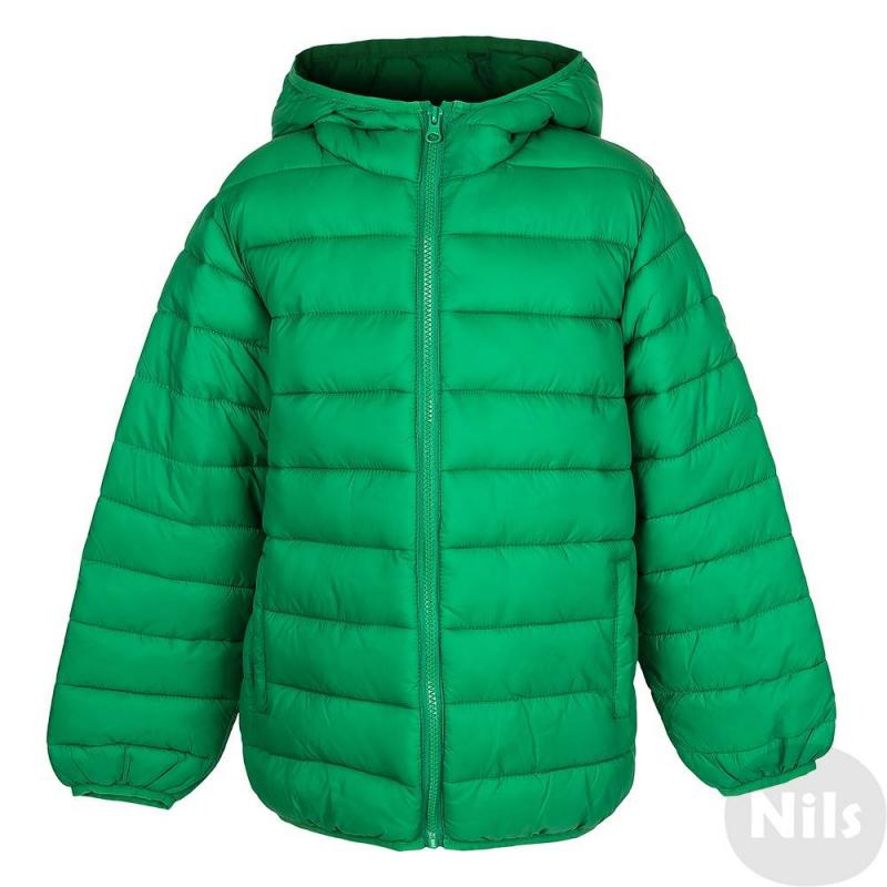 КурткаКуртка зеленогоцвета марки MAYORAL для мальчиков. Демисезонная куртка с легким утеплением имеет капюшон, застегивается на молнию. По бокам куртка имеет два кармана.Манжеты, низ и капюшон окантованы эластичной резинкой. Куртка прекрасно подойдет на прохладную осеннюю погоду.<br><br>Размер: 12 лет<br>Цвет: Зеленый<br>Рост: 152<br>Пол: Для мальчика<br>Артикул: 617569<br>Страна производитель: Китай<br>Состав: 100% Полиамид<br>Бренд: Испания<br>Наполнитель: 100% Полиэстер