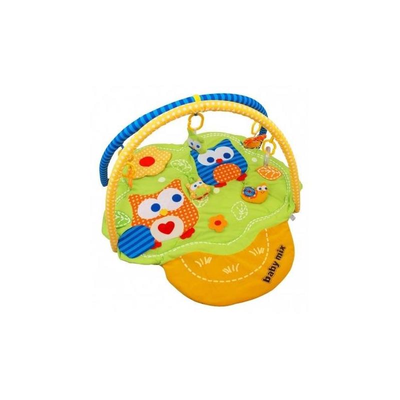 Baby Mix Развивающий коврик Сова подвесные игрушки baby mix собачка с клубникой