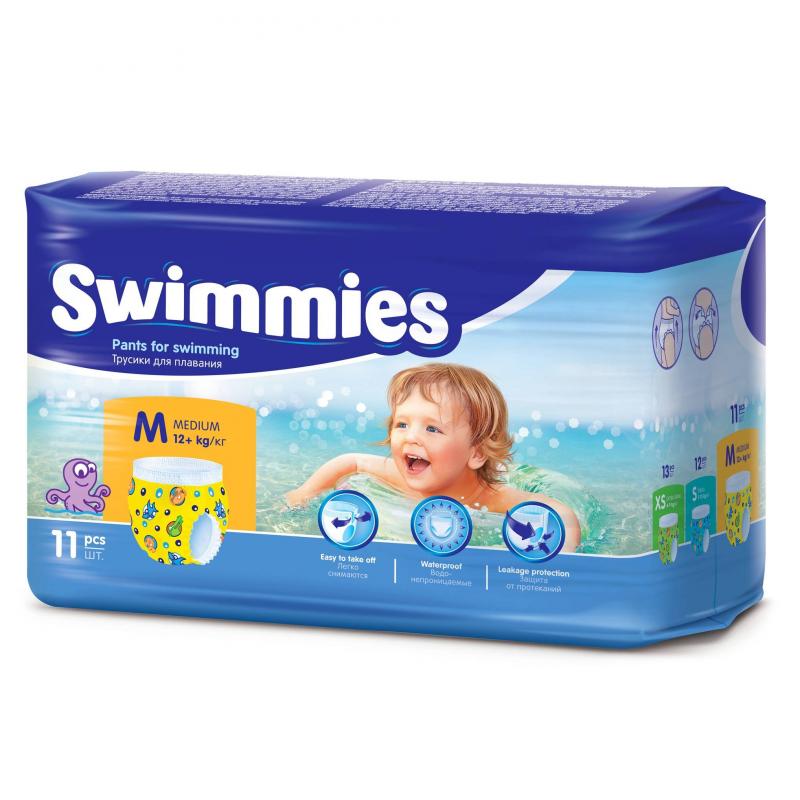 Фото Helen Harper Трусики для плавания Swimmies 12+ кг 11 шт