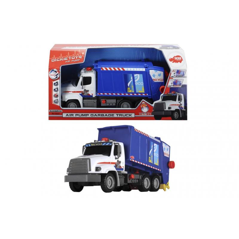 Dickie Toys Игрушка Мусоровоз AirPump квадроцикл dickie 3099613