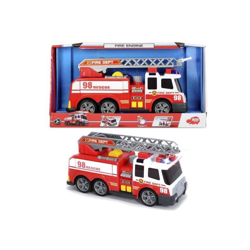 Dickie Toys Игрушка Пожарная машина функциональная dickie toys 15см