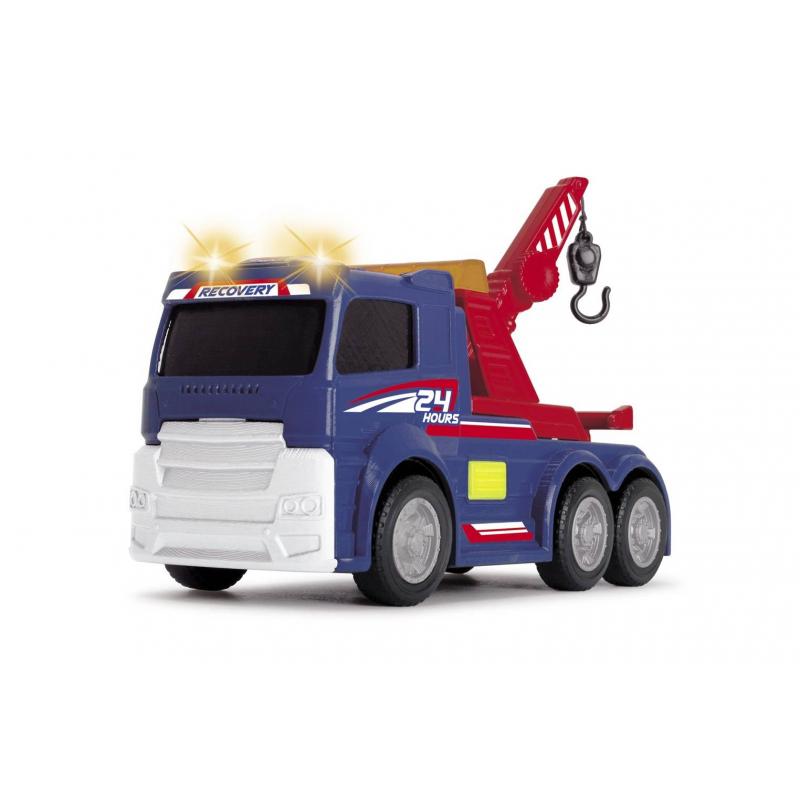 Dickie Toys Игрушка Эвакуатор со светом и звуком dickie грузовик со светом и звуком 15см 3302005