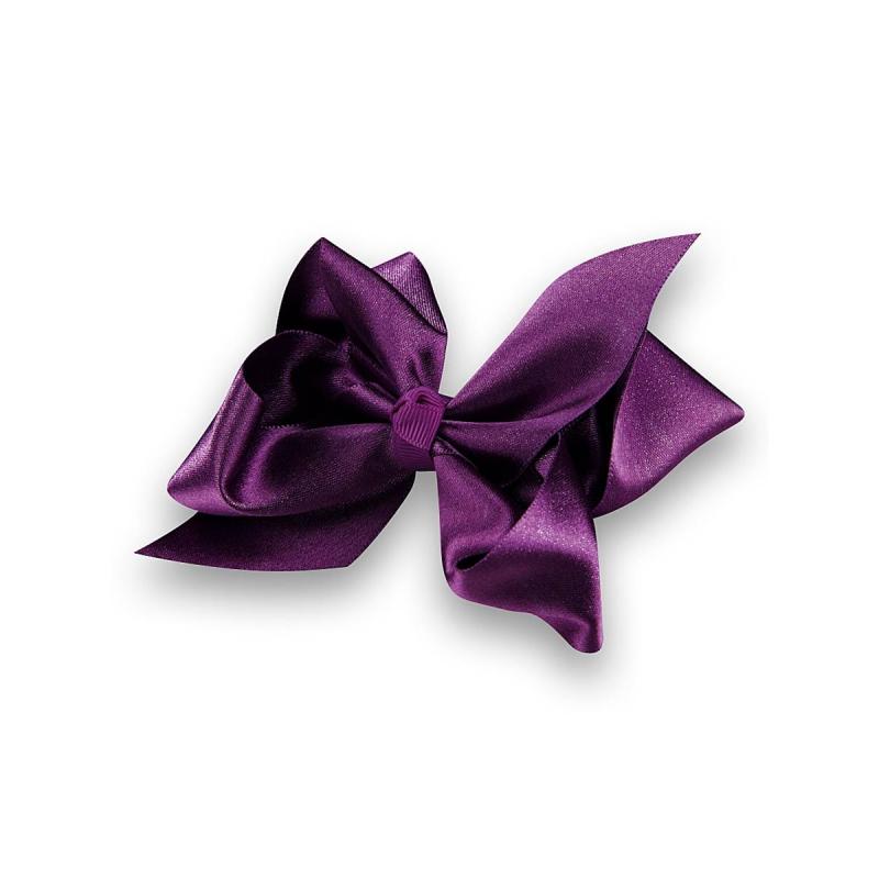 Заколка-зажимЗаколка-зажим с атласным фиолетовымбантом марки Perlitta by Charmante станет украшением праздничной и повседневной прически. Заколка прекрасно фиксирует пряди.<br><br>Цвет: Сливовый<br>Пол: Не указан<br>Артикул: 601613<br>Страна производитель: Китай<br>Сезон: Всесезонный<br>Бренд: Италия<br>Размер: Без размера