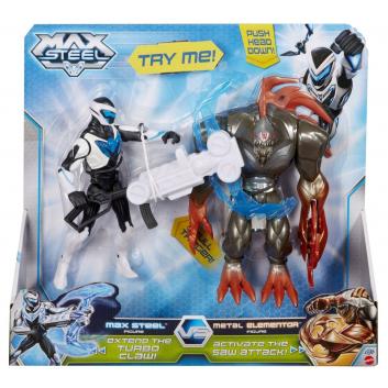 Любимые герои, Макс Стил против Разрушителя Mattel 619035, фото