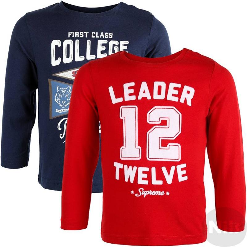 Комплект футболокДве футболки с длинным рукавом синего и бордовогоцвета марки Mayoral для мальчиков. Футболки выполнены из хлопкового трикотажа (серая - с добавлением вискозы), застегиваются на кнопки на плече. Синяя футболка украшена бархатистым принтом, серая - разноцветным принтом в спортивном стиле.<br><br>Размер: 18 месяцев<br>Цвет: Красный<br>Рост: 86<br>Пол: Для мальчика<br>Артикул: 619214<br>Бренд: Испания<br>Страна производитель: Бангладеш<br>Сезон: Осень/Зима<br>Состав: 90% Хлопок, 10% Вискоза<br>Состав верха: 100% Хлопок<br>Вид застежки: Кнопки