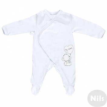 Малыши, Комбинезон Nice-Kid (белый)618606, фото