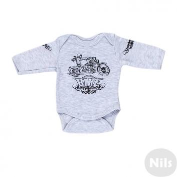 Малыши, Боди Nice-Kid (серый)618704, фото