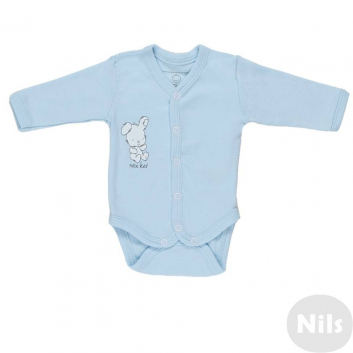 Малыши, Боди Nice-Kid (голубой)618712, фото
