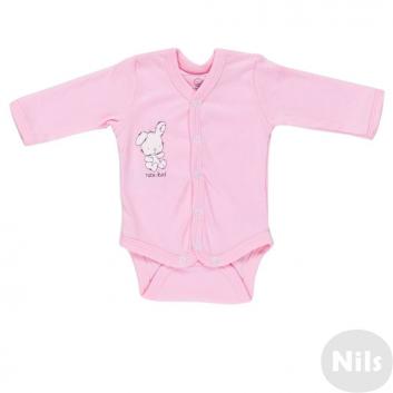 Малыши, Боди Nice-Kid (розовый)618716, фото