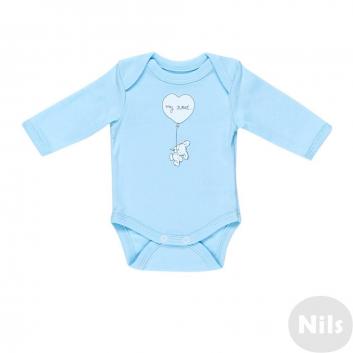 Малыши, Боди Nice-Kid (голубой)618665, фото