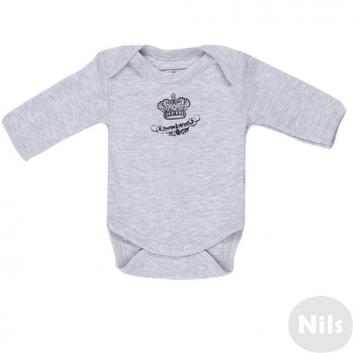 Малыши, Боди Nice-Kid (серый)618689, фото