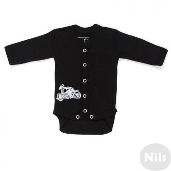 Малыши, Боди Nice-Kid (черный)618756, фото