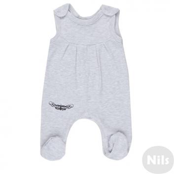 Малыши, Полукомбинезон Nice-Kid (серый)618882, фото