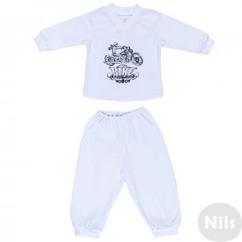 Малыши, Комплект 2 предмета Nice-Kid (белый)618926, фото