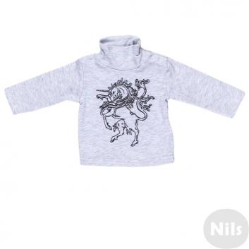 Малыши, Водолазка Nice-Kid (серый)618816, фото