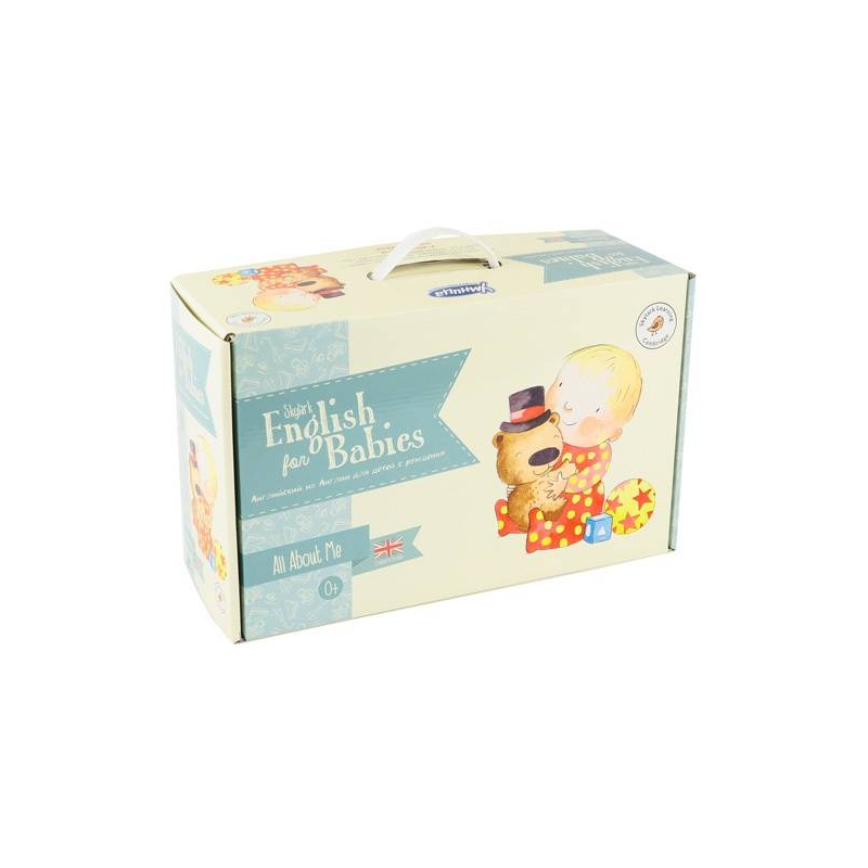 Умница Набор Skylark English for Babies. All About Me