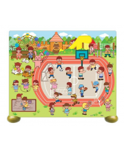 Пазл на подставке Детская площадка 80 деталей
