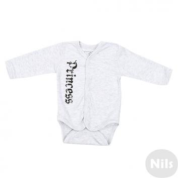 Малыши, Боди Nice-Kid (серый)618738, фото