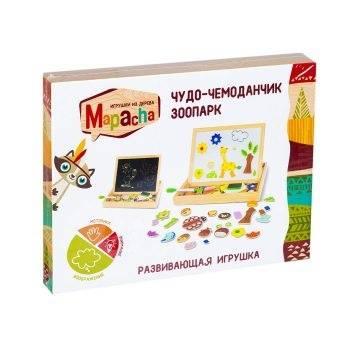 Игрушки, Чудо-чемоданчик Зоопарк Mapacha 713236, фото