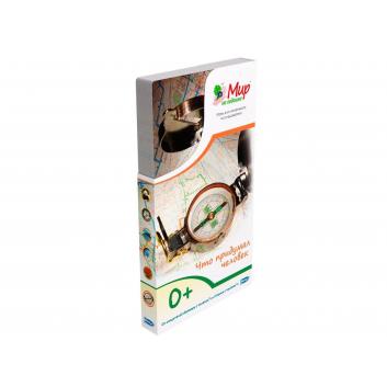 Книги и развитие, Набор карточек Что придумал человек 25 шт Умница 619977, фото