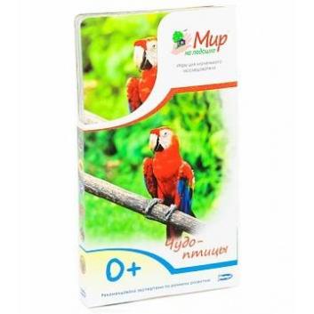 Книги и развитие, Набор карточек Чудо-птицы 25 шт Умница 619984, фото