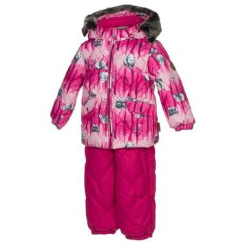 Верхняя одежда, Комплект Noelle 1 2 предмета Huppa (малиновый)521806, фото