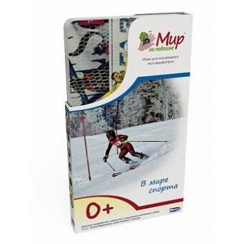Книги и развитие, Набор карточек В мире спорта 25 шт Умница 619991, фото