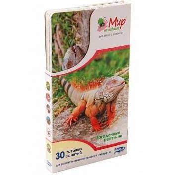 Книги и развитие, Набор карточек Загадочные рептилии 25 шт Умница 619998, фото
