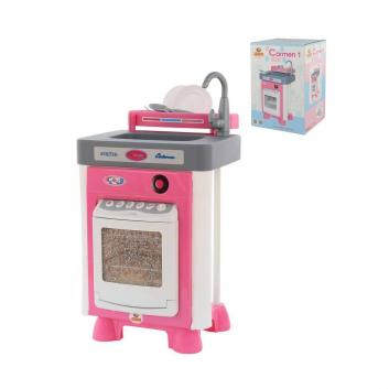 Игрушки, Игровой набор Carmen №1 с посудомоечной машиной Полесье 511154, фото