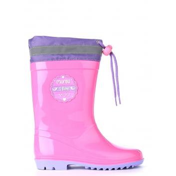Обувь, Резиновые сапоги MURSU (розовый)155672, фото