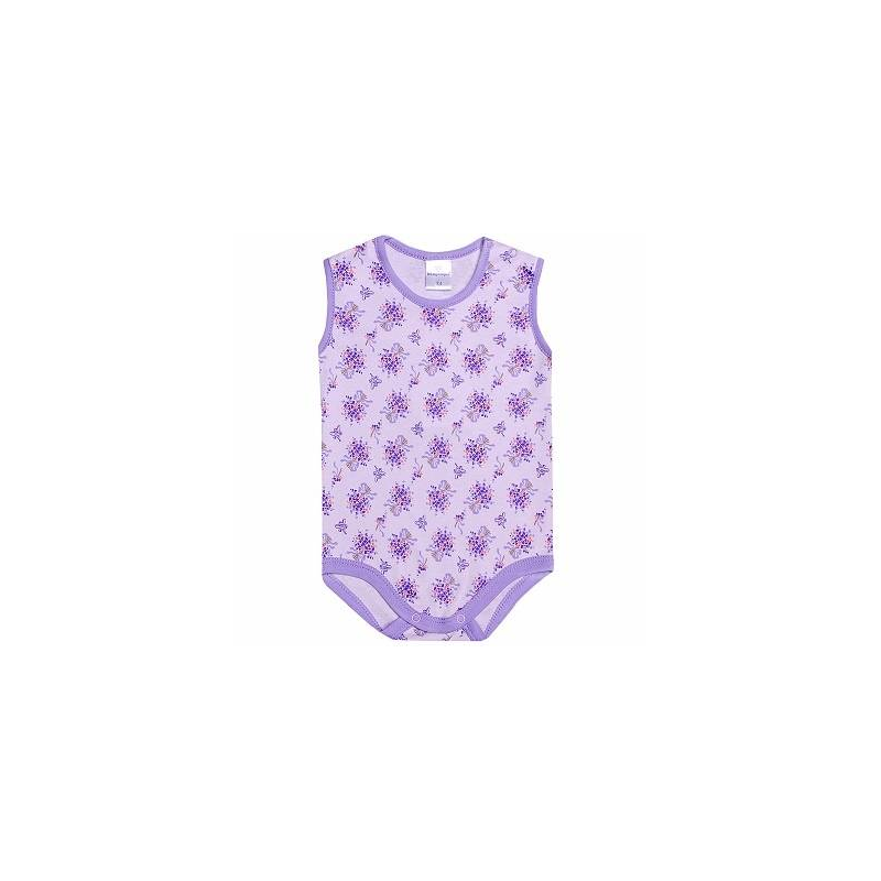 Боди-майкаБоди-майка лавандового цвета марки Мамуляндия для девочек. Боди без рукавов выполнено из стопроцентного хлопка, украшено цветочным принтом. Боди имеет кнопочную застежку на плече и две кнопки снизу для удобства переодевания малыша.<br>Большемерит на размер.<br><br>Размер: 9 месяцев<br>Цвет: Сиреневый<br>Рост: 74<br>Пол: Для девочки<br>Артикул: 620746<br>Страна производитель: Россия<br>Сезон: Всесезонный<br>Состав: 100% Хлопок<br>Бренд: Россия<br>Вид застежки: Кнопки